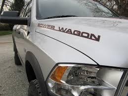 Dodge Ram Wagon - product 2 dodge ram power wagon truck vinyl decals stickers