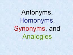 Light Synonyms Antonyms Homonyms Synonyms And Analogies Ppt Video Online