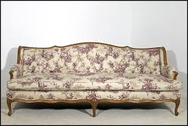 long tufted sofa french provincial style tufted sofa newly upholstered from oh on