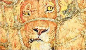 lion mouse u0027 illustrated jerry pinkney