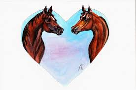 make it easy crafts horse lover free printable valentine u0027s day card