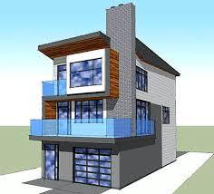 house plans narrow lot interesting narrow lot modern infill house plans ideas ideas modern