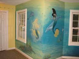 Mermaid Room Decor Mermaid Room Decor Wall Murals Mermaid Room Decor