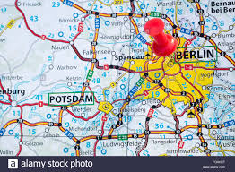 berlin germany world map map of berlin capital city germany stock photo royalty free