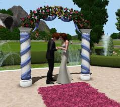 wedding arches in sims 4 mod the sims wedding arches ts2 celebration sp ts4 bonus