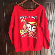 mardi gras sweatshirt 80 outfitters tops outfitters vintage mardi