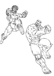 super villain coloring pages the leader fight the hulk coloring pages hellokids com