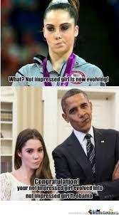 Not Impressed Meme - not impressed girl ft obama by fuad meme center