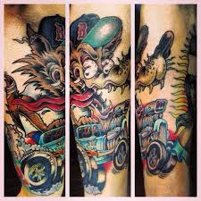 union electric tattoo wolf fink