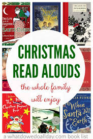 christmas chapter books for family read alouds
