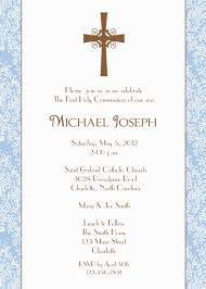 Holy Communion Invitation Cards Samples First Holy Communion Invitation Baptism Confirmation Baby