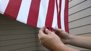 American Flag Magnet Fixing The Flag Furling Frustration Youtube