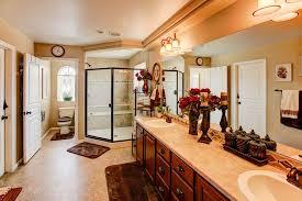 Devonshire Kohler Faucet Traditional Master Bathroom With Specialty Door U0026 Limestone