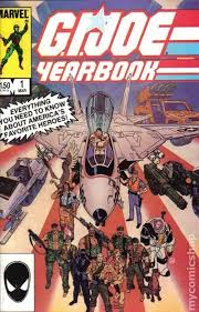 gi joe yearbook g i joe yearbook 1 mar 1985 marvel ebay