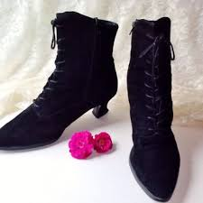 womens high heel boots size 9 best lace up boots products on wanelo