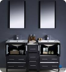ariel seacliff bayhill 60 double sink bathroom vanity set