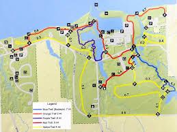 Buckeye Trail Map Geneva State Park Trekohio