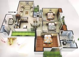 joyous 1 house plan 3d view 3d homeca