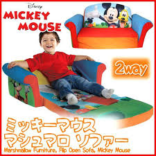 mickey mouse clubhouse flip open sofa with slumber mickey mouse clubhouse flip open sofa www stkittsvilla com