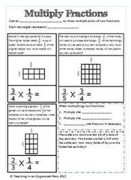 decimal multiplication area models hands on elementary math