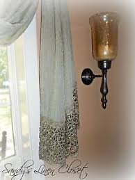 Peri Homeworks Collection Curtains Peri Homeworks Collection Window Scarf 220 With 8 1 2 Lace