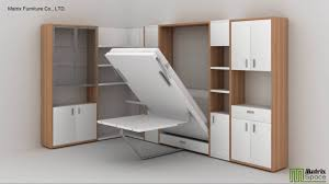 matrix space wall bed murphy bed space saving furniture collection