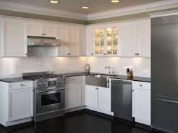 Glass Kitchen Tiles For Backsplash by Popular Kitchens With White Glass Tile Backsplash My Home Design