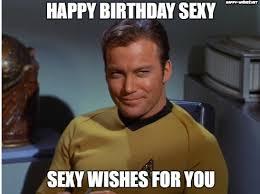 Happy Birthday Star Trek Meme - best funny star trek birthday meme happy wishes