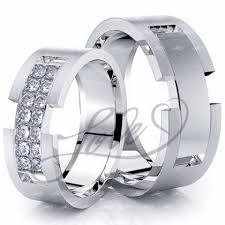 his and hers wedding rings sets wedding ring sets for him with lifetime warranty