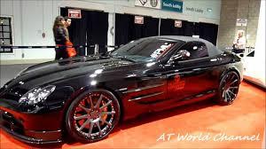 mercedes mclaren red mercedes benz slr mclaren 722 tuned by platinum motorsports 2011