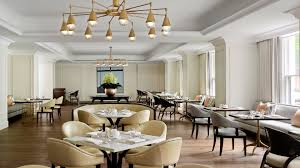 luxury fine dining hotel bistro the langham sydney