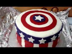 how to make a captain america cake nerdy nummies seriously fun