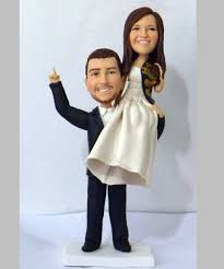 weight lifting cake topper wedding cake toppers custom cake toppers