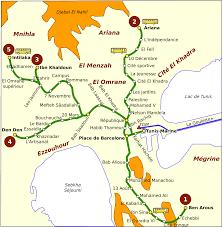 Alexandria On A Map Stadtbahn Tunis U2013 Wikipedia