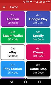 free gift cards app free gift card generator gift cards free android app android
