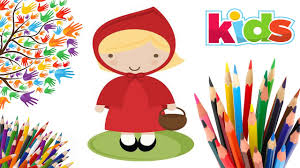 red riding hood coloring pages coloring colours