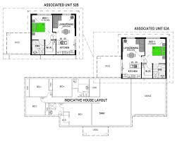 cozy inspiration house plans with granny flat attached nz 7 duo2