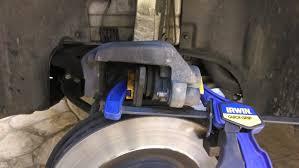 audi q7 brake pad replacement diy rotors and brakes front mbworld org forums