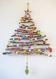 stylish ideas christmas tree wall hanging crafty inspiration 17