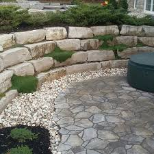 Patio Rocks 73 Best My Landscape Projects Images On Pinterest Walkway Front