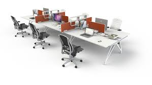 Office Desk System Eyhov Workstations Scale 1 1
