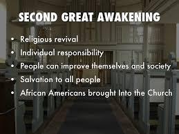 second great awakening essay