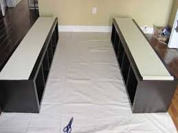 Making A Platform Bed Out Of Kitchen Cabinets by Best 25 Ikea Platform Bed Ideas On Pinterest Diy Bed Frame Diy