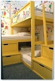 Three Person Bunk Bed 3 Person Bunk Bed Hcandersenworld