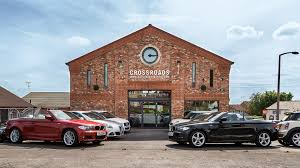 welcome to crossroads garage ltd sheffield south yorkshire photo of crossroads garage ltd forecourt