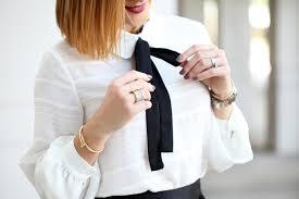 bow tie blouse tis the feather season black mini skirt bow tie blouse blame