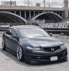 2007 Acura Tsx Tsw Portier Air Lift Performance Bagged Gold
