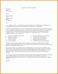 cover letter finance exles awesome collection of cover letter exles for finance