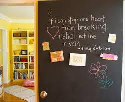download paint a chalkboard wall adhome