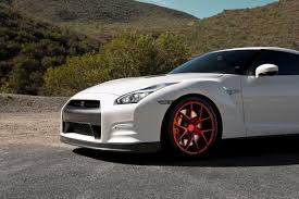 Nissan Gtr R35 - white nissan gtr r35 zito zs05 red concave wheels pk auto design